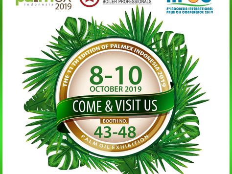 The 11th Edition of Palmex Indonesia 2019