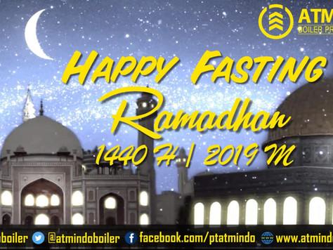HAPPY FASTING RAMADHAN 1440 H
