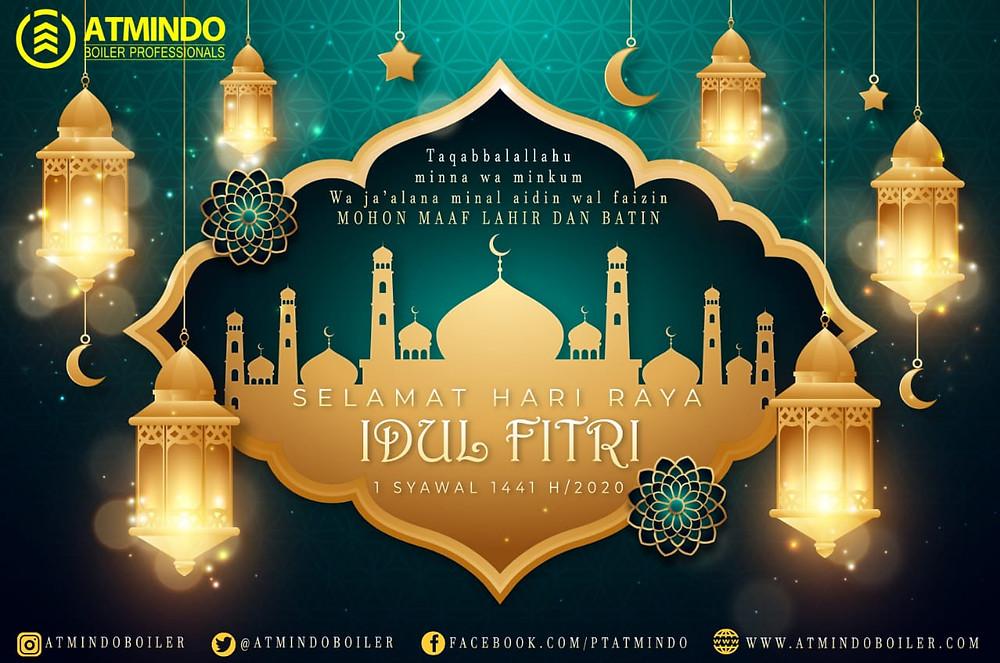 Selamat Hari Raya Idul Fitri Happy Eid Mubarak 1 Syawal 1441 H 2020