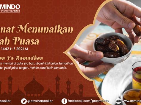 Selamat Menunaikan Ibadah Puasa Ramadhan 1442 H / 2021 M || Happy Fasting 1442 H / 2021 M