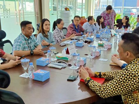 Kunjungan Bursa Efek Indonesia dalam rangka Sosialisasi Aksi Korporasi ke PT. ATMINDO Tbk pada hari