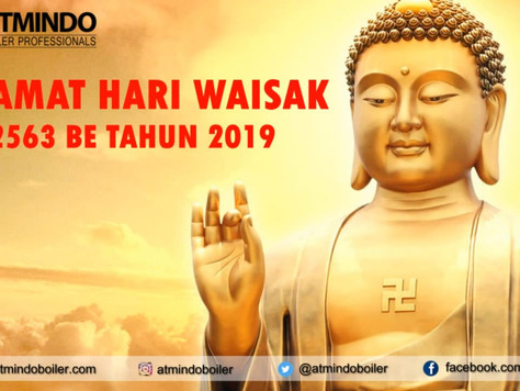 Selamat Hari Raya Waisak 2563 BE 2019