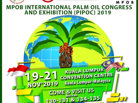MPOB INTERNATIONAL PALM OIL CONGRESS AND EXHIBITION (PIPOC) 2019