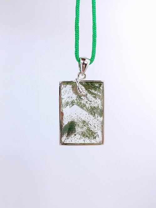 M061  天然幽靈綠吊墜  11克  RMB768.00