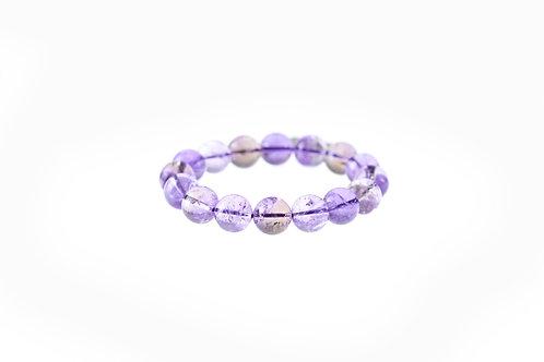 Ha005 天然紫黃水晶珠手鏈  13.5mm RMB940.00