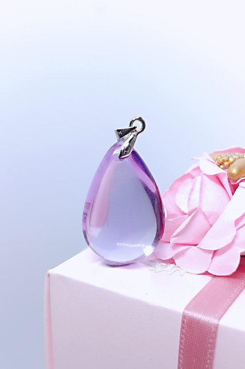 M086 天然極品紫水晶吊墜  8克  RMB598.00
