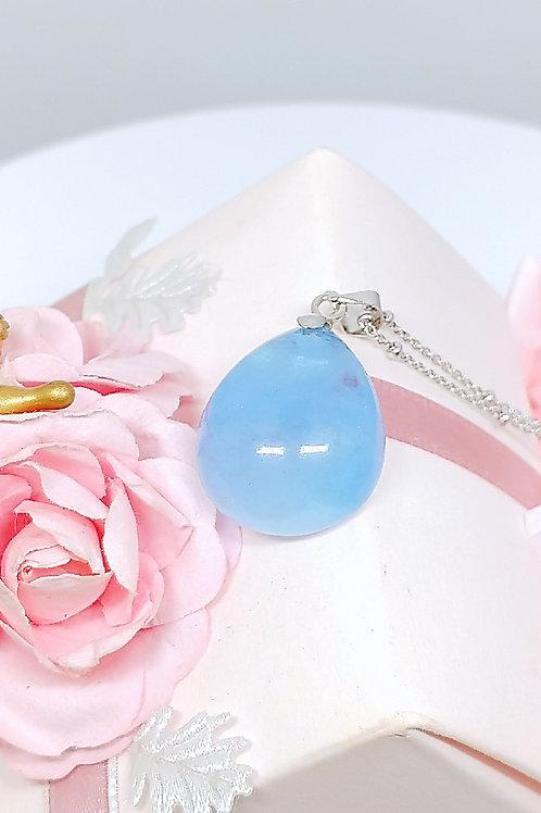 M159 天然海藍寶水晶吊墜   HK$728.00  RMB628.00