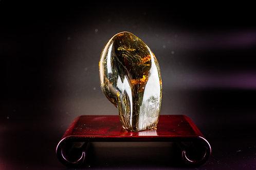 K015  天然緬甸琥珀原石擺件 413g    RMB2528.00