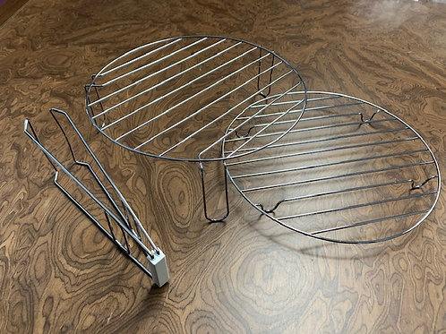 New Turbo oven high and low rack plus rack tongs