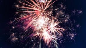 Following Summer Fete Fireworks... Midnight Scoops!