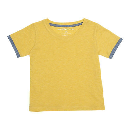 Everyday Tee (Yellow/purple)