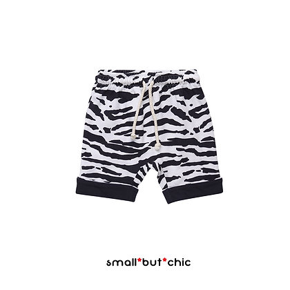 Tiger stripe shorts