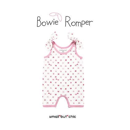 Bowie Romper (Pink Cat)