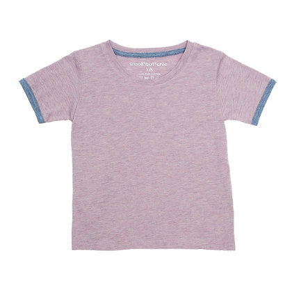 Everyday Tee (Orchid/blue)