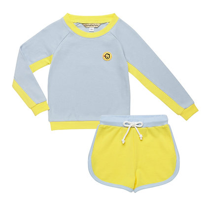 Set of Jumper and shorts(Blue)