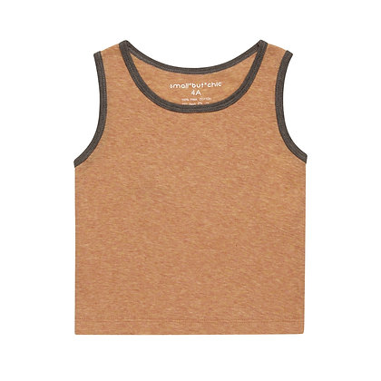Everyday Tank Top(Orange/Brown)