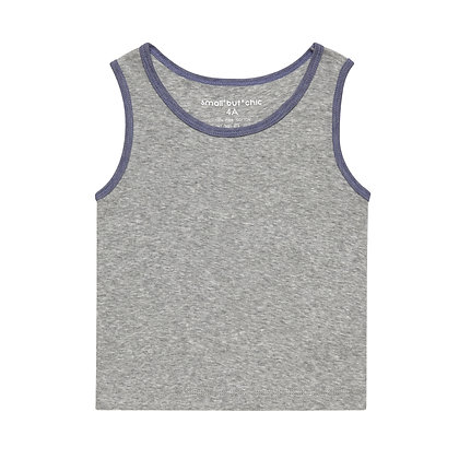 Everyday Tank Top(Grey/Purple)