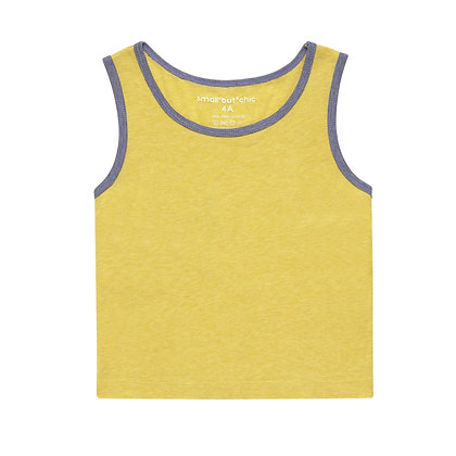 Everyday Tank Top(Yellow/Blue)