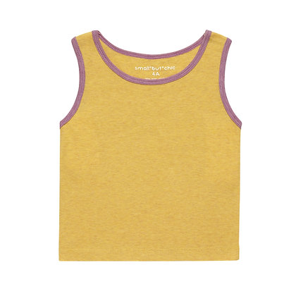 Everyday Tank Top(Yellow/Purple)