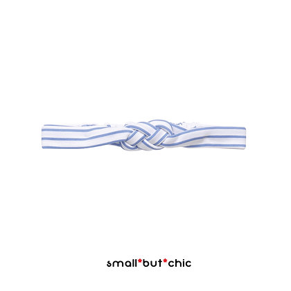 Striped knot head band