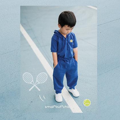 Play Time Hoodie Set(Blue)