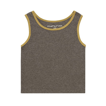 Everyday Tank Top(Brown/Yellow)