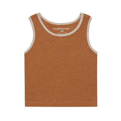 Everyday Tank Top(Orange/Beige)
