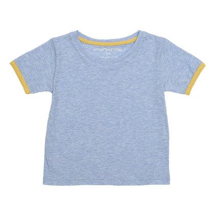 Everyday Tee (Light blue/yellow)