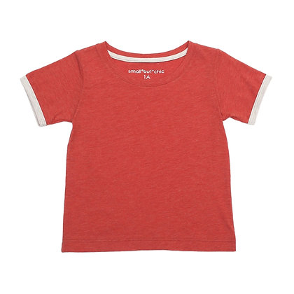 Everyday Tee (Red/Cream)