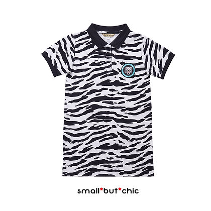 Small Tiger Polo dress