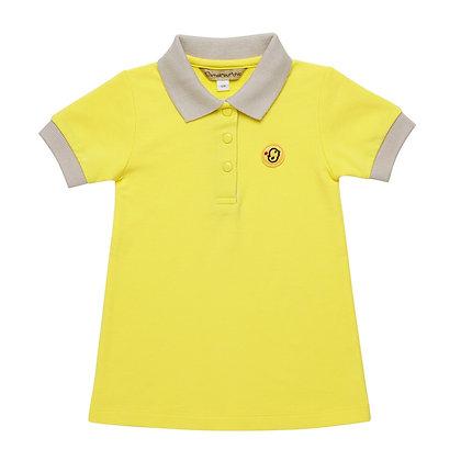 Polo dress (Yellow)