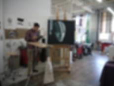 Art Explosion studios, Mission, San Francisco