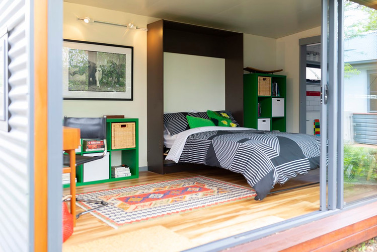 inoutside garden room - 7 x 4m Mallee design