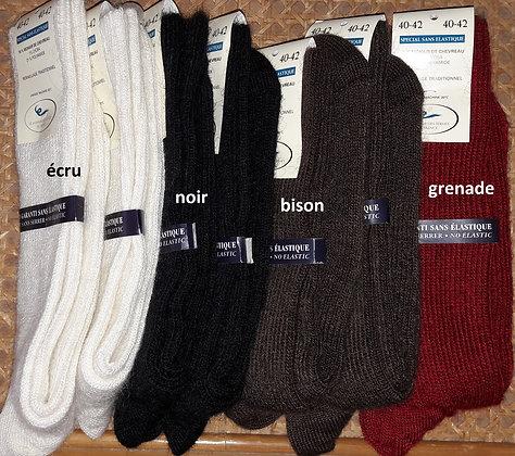 Chaussettes sans élastique