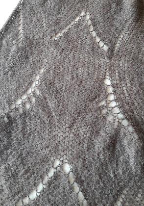 plaid tricoté 160x180