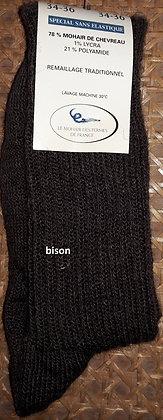 chaussettes sans élastique 34-36