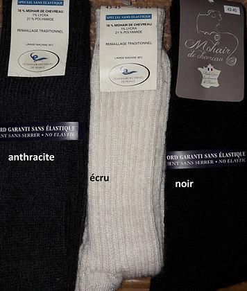 chaussettes sans élastique 43-45