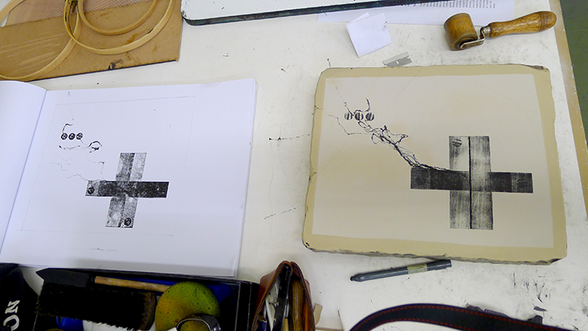 Stone Lithography June 2015