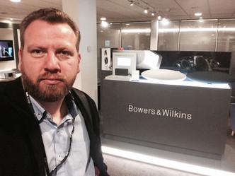 O engenheiro Francisco Martins Humann na B&W em Londres