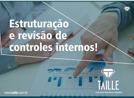 ESTRUTURAÇÃO E REVISÃO DE CONTROLES INTERNOS.