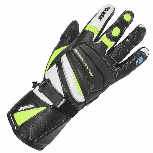 Spada Latour Vented Summer Gloves Black/Hi-Vis
