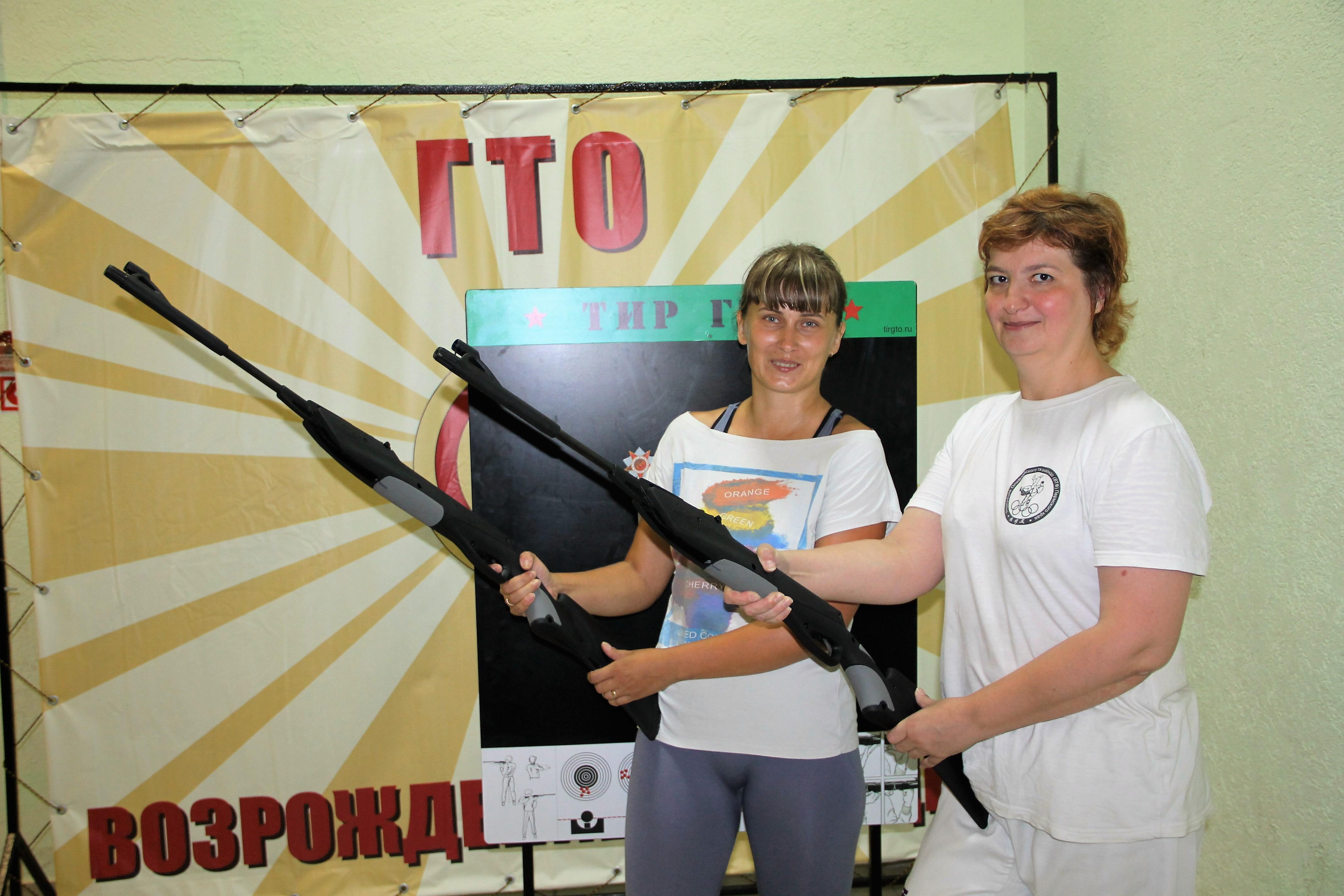 Стрельба из пневматической винтовки (2)