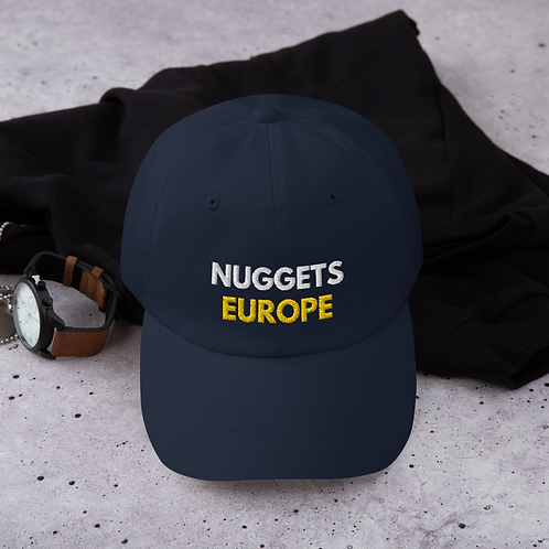 Nuggets Europe Dad Hat