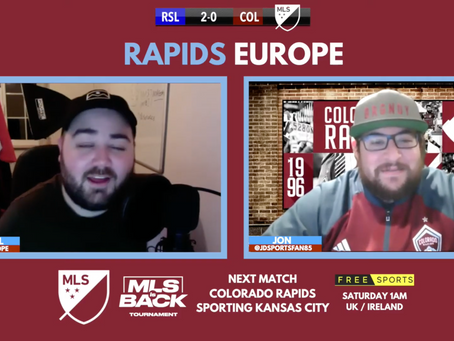 Real Salt Lake defeat Colorado Rapids in first MLS Is Back game