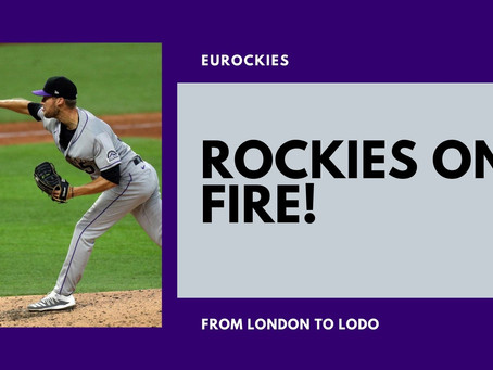 Mike Rice talks about his career and THAT Colorado Rockies start to the 2020 MLB Season