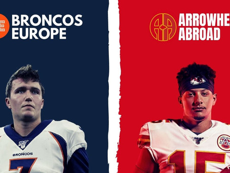 Broncos - Chiefs: Pre-Game with Arrowheads Abroad & The Brit Chief