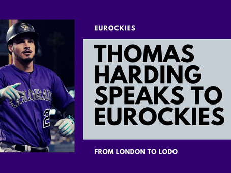 Rockies on a roll - Thomas Harding speaks to EURockies