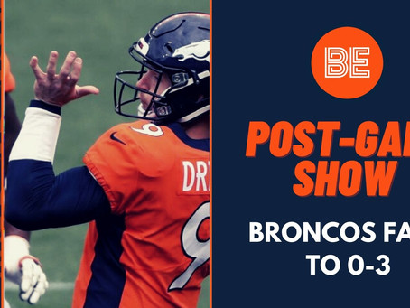 Denver Broncos fall to 0-3, lose to Tampa Bay - Broncos Europe Post-Game Show