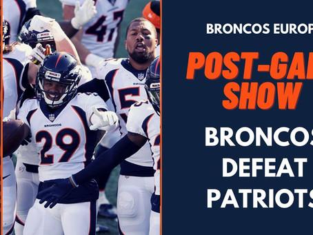 Denver Broncos defeat New England Patriots, 18-12: Reaction
