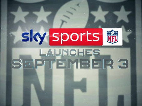 Sky Sports launching dedicated NFL channel from September